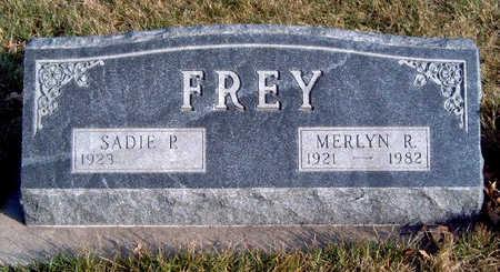 FREY, SADIE P. - Madison County, Iowa | SADIE P. FREY