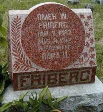 FRIBERG, OMAR WARD - Madison County, Iowa | OMAR WARD FRIBERG