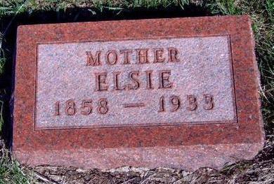 FRITSON, ELSIE - Madison County, Iowa   ELSIE FRITSON