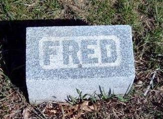 FRITSON, FRED - Madison County, Iowa | FRED FRITSON