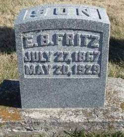FRITZ, EDMOND B. - Madison County, Iowa | EDMOND B. FRITZ