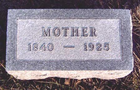 FRITZ, MARY ELLEN - Madison County, Iowa | MARY ELLEN FRITZ