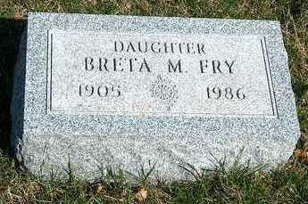 FRY, BRETA MARIE - Madison County, Iowa | BRETA MARIE FRY