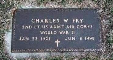 FRY, CHARLES WARREN - Madison County, Iowa | CHARLES WARREN FRY