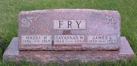 FRY, HAZEL HELLEN - Madison County, Iowa | HAZEL HELLEN FRY
