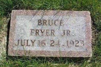 FRYER, BRUCE JR. - Madison County, Iowa | BRUCE JR. FRYER