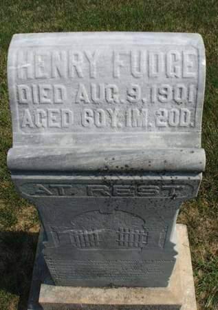 FUDGE, WILLIAM HENRY - Madison County, Iowa | WILLIAM HENRY FUDGE
