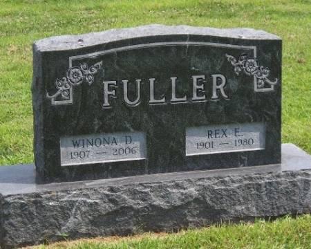 FULLER, WINONA DOROTHY - Madison County, Iowa   WINONA DOROTHY FULLER