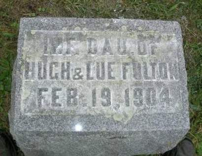 FULTON, BLANCHE E. - Madison County, Iowa | BLANCHE E. FULTON