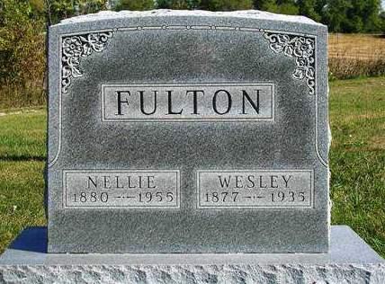 FULTON, NELLIE E. - Madison County, Iowa | NELLIE E. FULTON
