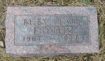 FULTON, RUBY PEARL - Madison County, Iowa | RUBY PEARL FULTON