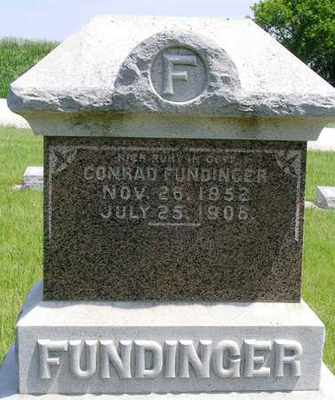 FUNDINGER, CONRAD - Madison County, Iowa | CONRAD FUNDINGER