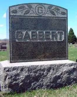 GABBERT, FAMILY STONE - Madison County, Iowa | FAMILY STONE GABBERT