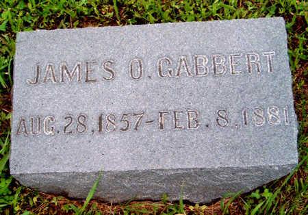 GABBERT, JAMES O. - Madison County, Iowa | JAMES O. GABBERT