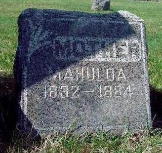 GABBERT, MARY MAHULDA - Madison County, Iowa | MARY MAHULDA GABBERT
