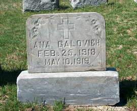 GALOVICH, MARY ANKA