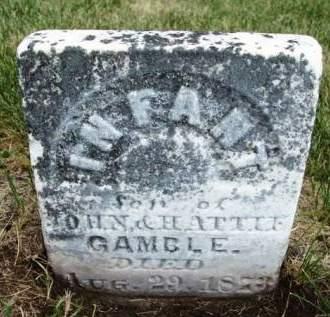 GAMBLE, INFANT - Madison County, Iowa | INFANT GAMBLE