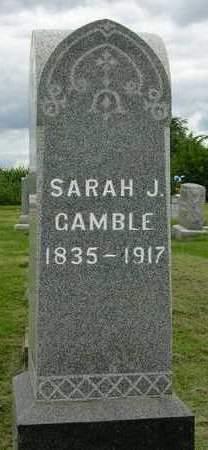 GAMBLE, SARAH JANE - Madison County, Iowa | SARAH JANE GAMBLE