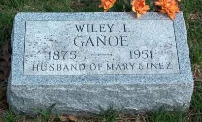 GANOE, WILEY ISAAC - Madison County, Iowa | WILEY ISAAC GANOE