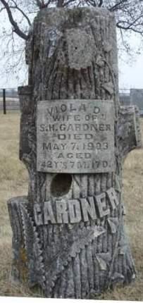 GARDNER, VIOLA DAVIS - Madison County, Iowa | VIOLA DAVIS GARDNER