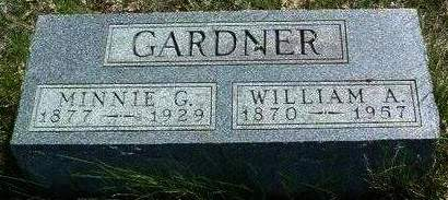 GARDNER, MINNIE GERTRUDE - Madison County, Iowa | MINNIE GERTRUDE GARDNER