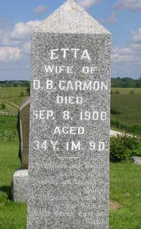 GARMON, ETTA - Madison County, Iowa   ETTA GARMON