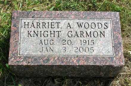 WOODS GARMON, HARRIET ALICE - Madison County, Iowa | HARRIET ALICE WOODS GARMON