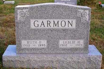 GARMON, NELLIE RUTH - Madison County, Iowa   NELLIE RUTH GARMON