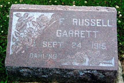 GARRETT, F.  RUSSELL - Madison County, Iowa | F.  RUSSELL GARRETT