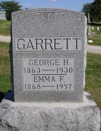 GARRETT, GEORGE  HORACE - Madison County, Iowa | GEORGE  HORACE GARRETT