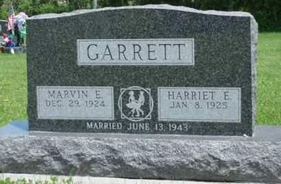 GARRETT, HARRIET E. - Madison County, Iowa | HARRIET E. GARRETT