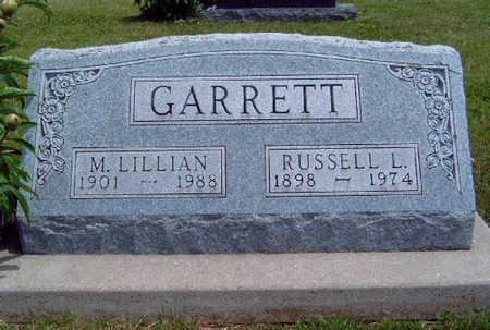 GARRETT, MARTHA LILLIAN - Madison County, Iowa | MARTHA LILLIAN GARRETT