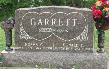 GARRETT, NORMA GWENDOLYNE - Madison County, Iowa | NORMA GWENDOLYNE GARRETT
