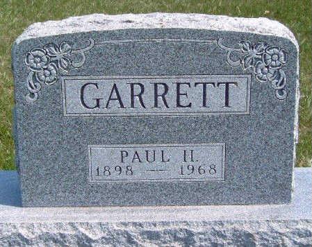 GARRETT, PAUL H. - Madison County, Iowa | PAUL H. GARRETT