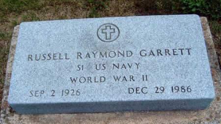 GARRETT, RUSSELL RAYMOND - Madison County, Iowa | RUSSELL RAYMOND GARRETT