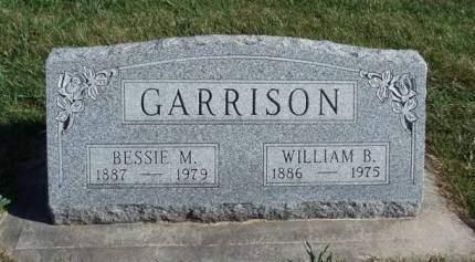 GARRISON, BESSIE MAUD - Madison County, Iowa | BESSIE MAUD GARRISON