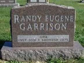 GARRISON, RANDY EUGENE - Madison County, Iowa | RANDY EUGENE GARRISON