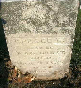 GARST, GEORGE W. - Madison County, Iowa   GEORGE W. GARST
