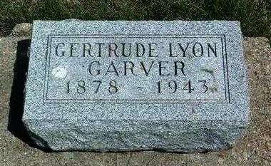 GARVER, GERTRUDE E. - Madison County, Iowa   GERTRUDE E. GARVER