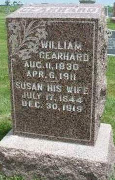 GEARHARD, WILLIAM - Madison County, Iowa | WILLIAM GEARHARD