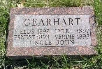 GEARHART, JOHN
