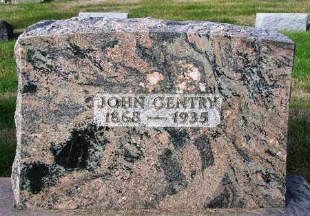 GENTRY, JOHN - Madison County, Iowa   JOHN GENTRY