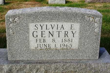 GENTRY, SYLVIA E. - Madison County, Iowa | SYLVIA E. GENTRY
