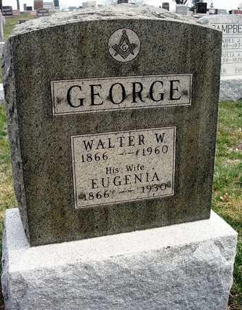 GEORGE, WALTER W. - Madison County, Iowa   WALTER W. GEORGE