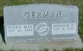 GERMAN, DONALD E. - Madison County, Iowa | DONALD E. GERMAN