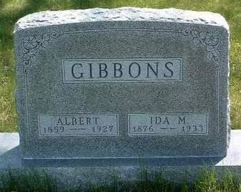 GIBBONS, IDA MAY - Madison County, Iowa | IDA MAY GIBBONS