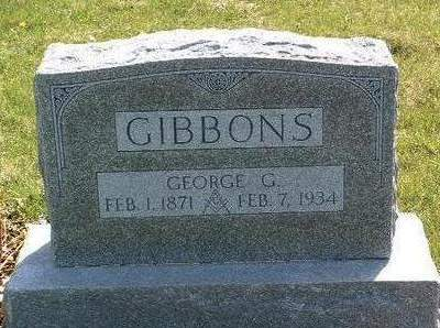 GIBBONS, GEORGE GAYLORD - Madison County, Iowa | GEORGE GAYLORD GIBBONS