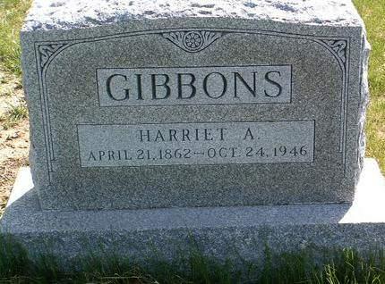 GIBBONS, HARRIET ANN - Madison County, Iowa | HARRIET ANN GIBBONS