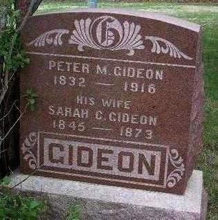 GIDEON, SARAH CATHERINE - Madison County, Iowa | SARAH CATHERINE GIDEON
