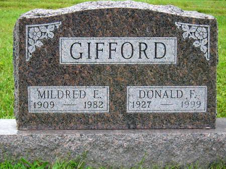 GIFFORD, MILDRED ELIZABETH - Madison County, Iowa | MILDRED ELIZABETH GIFFORD